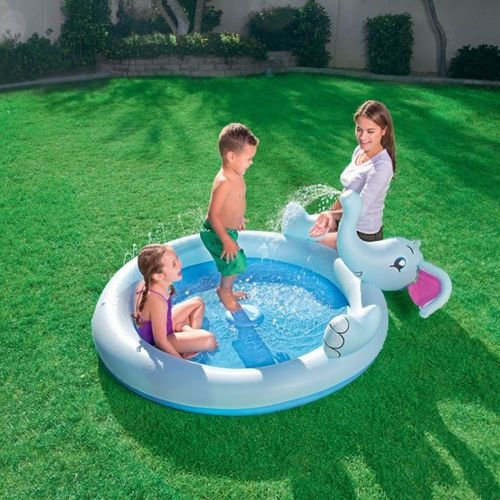 Interactive Elephant Play Pool